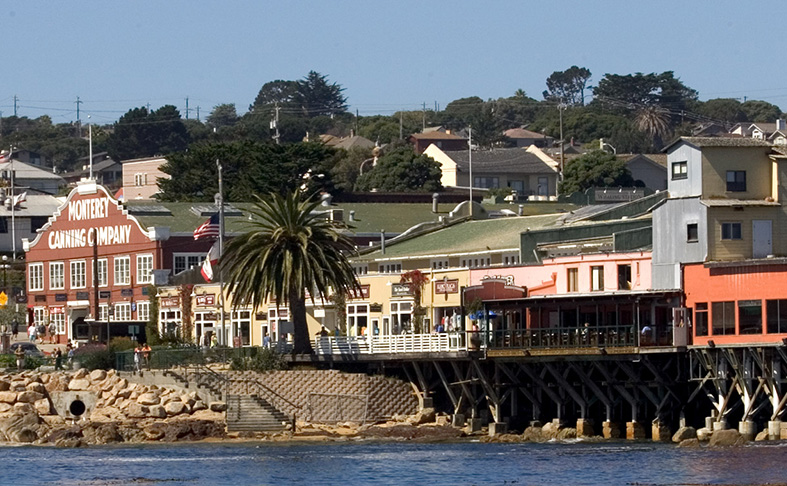 Cannery Row at Monterey
