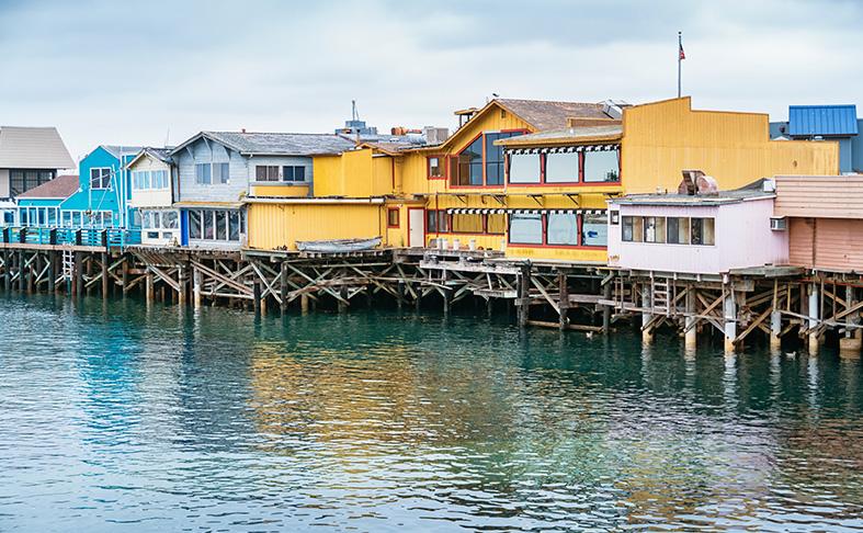 Old Fisherman's Wharf Monterey, California