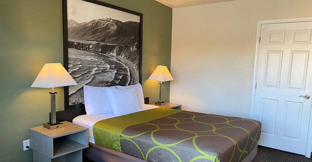 Super 8 by Wyndham Monterey Hotel, California