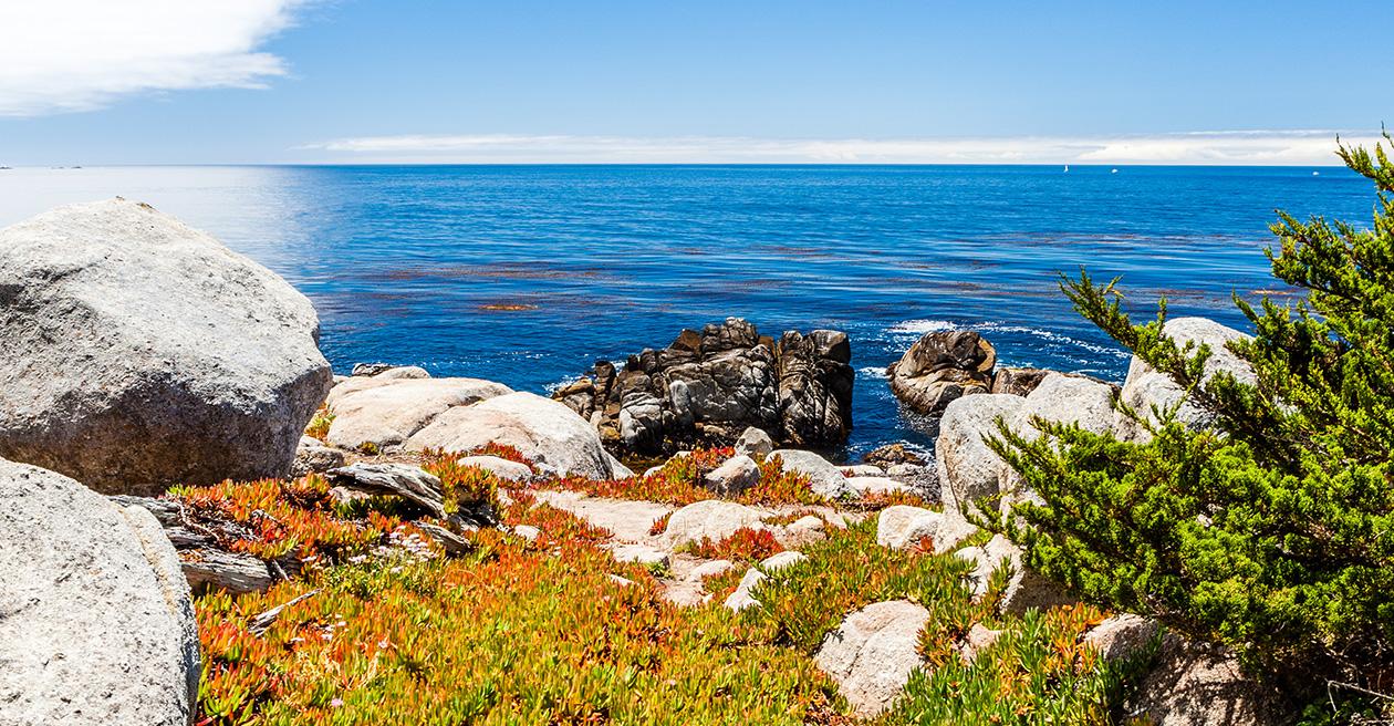 Location of Monterey, California Hotel