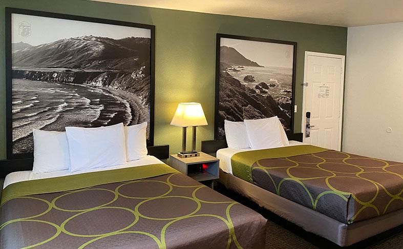 Monterey, California Hotel Two Queen Beds