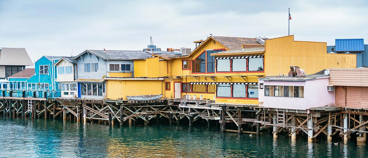 Old Fisherman's Wharf Monterey, California